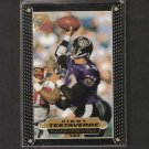 VINNY TESTAVERDE - 1997 Topps Gallery Players Private Issue Ravens, Browns and Miami Hurricanes
