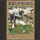 JASON TAYLOR - 2004 Topps Gold Parallel - Miami Dolphins, NY Jets & Akron