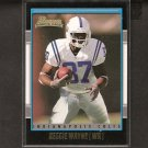 REGGIE WAYNE - 2002 Bowman Gold Rookie - Indianapolis Colts & Miami Hurricanes
