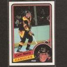 CAM NEELY - 1984-85 O-Pee-Chee ROOKIE CARD - Boston Bruins