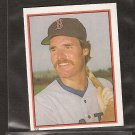 WADE BOGGS - 1983 Topps Sticker ROOKIE - Red Sox