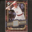 CARLTON FISK 2005 Upper Deck Classics GAME-USED JERSEY - Red Sox