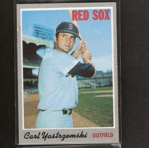 CARL YASTRZEMSKI - 1970 Topps - Red Sox