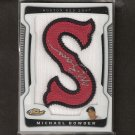 "MICHAEL BOWDEN - 2009 Finest Letter Patch Autograph, ""S"" in Red Sox - Cubs"