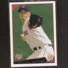 MICHAEL BOWDEN 2009 Topps Rookie - Red Sox