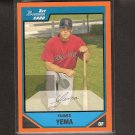 YAHMED YEMA 2007 Bowman ORANGE Rookie Card - Red Sox