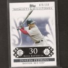 DUSTIN PEDROIA 2008 Topps Moments & Milestones - Red Sox