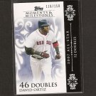 DAVID ORTIZ 2008 Topps Moments & Milestones - Red Sox