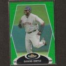 DAVID ORTIZ - 2008 Topps Finest GREEN REFRACTOR - Boston Red Sox