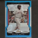 DAVID ORTIZ - 2009 Topps Finest BLUE REFRACTOR - Boston Red Sox