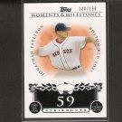 JONATHAN PAPELBON 2008 Topps Moments & Milestones - Red Sox