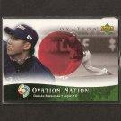 DAISUKE MATSUZAKA - 2006 UD Ovation WBC ROOKIE CARD - Red Sox