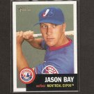 JASON BAY - 2002 Topps Heritage ROOKIE - Red Sox, Mets