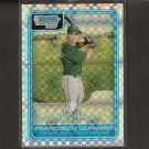 FRANCISCO LEANDRO - 2006 Bowman Chrome XFRACTOR Rookie - Tampa Bay Rays