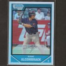 ROBERT ALCOMBRACK - 2007 Bowman Chrome REFRACTOR Rookie - Indians