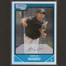 ESMERLING VASQUEZ - 2007 Bowman Chrome REFRACTOR Rookie - Diamondbacks