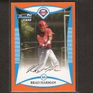BRAD HARMAN - 2008 Bowman ORANGE Rookie - Phillies