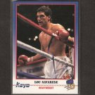 LOU SAVARESE - 1991 Kayo Boxing ROOKIE - Houston, Texas