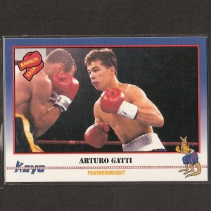 ARTURO GATTI - 1991 Kayo Boxing ROOKIE - Jersey City, New Jersey