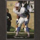 DARRYL LEWIS - 1995 Upper Deck GOLD Parallel - Oilers