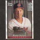 KEVIN SEITZER - 1997 Donruss Studio Press Proof - Indians
