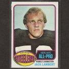 JACK LAMBERT - 1976 Topps Rookie Card - Pittsburgh Steelers