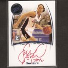 SUE BIRD 2007 Press Pass Legends Autograph - WNBA & UConn Huskies