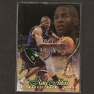 RAY ALLEN 1996-97 Flair Rookie - Boston Celtics & UConn Huskies