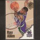 RAY ALLEN 1996-97 Skybox Hoops Rookie - Boston Celtics & UConn Huskies