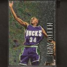 RAY ALLEN 1996-97 Fleer Metal Rookie - Boston Celtics & UConn Huskies