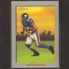 BRANDON JACOBS 2005 Turkey Red Rookie - NY Giants