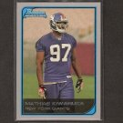 MATHIAS KIWANUKA - 2006 Bowman - NY Giants & Boston College