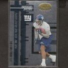 BRANDON JACOBS 2005 Leaf Certified Materials Rookie - NY Giants