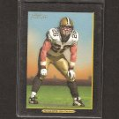 DEUCE McALLISTER - 2005 Turkey Red BLACK - Saints & Ole Miss