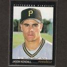 JASON KENDALL - 1993 Pinnacle Rookie - Milwaukee Brewers
