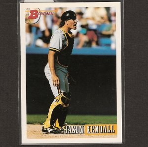 JASON KENDALL - 1993 Bowman Rookie - Milwaukee Brewers