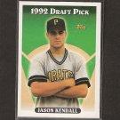 JASON KENDALL - 1993 Topps Rookie - Milwaukee Brewers