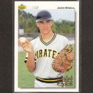 JASON KENDALL - 1992 Upper Deck Minor League Rookie - Milwaukee Brewers
