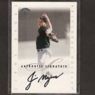 JIMMY MYERS - 1996 Leaf Signature Series - Baltimore Orioles