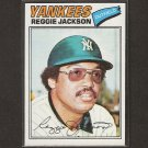 REGGIE JACKSON - 1977 Topps - Ex-Mint - FIRST YANKEES CARD