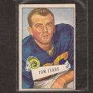 TOM FEARS - 1952 Bowman small - LA Rams & UCLA Bruins