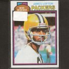 JAMES LOFTON - 1979 Topps RC - Stanford, Packers & Bills