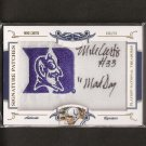 MIKE CURTIS #16/26 - 2008 National Treasures Autographed College Patch -  Duke & Baltimore Colts