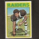 GENE UPSHAW - 1972 Topps RC NM - Oakland Raiders & Texas A&M Aggies