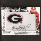 MATTHEW STAFFORD - 2009 Rookies & Stars Autograph College Patch Georgia Bulldogs & Detroit Lions