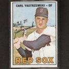 CARL YASTRZEMSKI 1967 Topps Triple Crown Year - Boston Red Sox