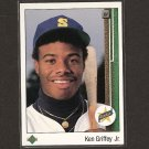 KEN GRIFFEY, JR. 1989 Upper Deck ROOKIE - Mariners & Cincinnati Reds