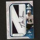 DAN CONNOR #2/4 - 2008 SP Rookie Threads LETTERMEN Autograph RC - Penn State