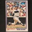 REGGIE JACKSON 1978 O-Pee-Chee - NY Yankees & California Angels