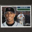 JOSE REYES - 2005 Topps Heritage Chrome - NY Mets